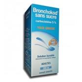 Bronchokod sans sucre adultes 5 pour cent