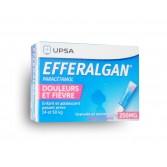 Efferalgan paracétamol 250 mg - Granulés en sachet vanille fraise