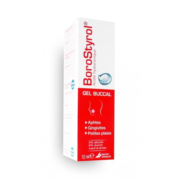 borostyrol acide hyaluronique gel buccal 12 ml aphtes gingivites et plaies. Black Bedroom Furniture Sets. Home Design Ideas