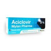 Aciclovir Mylan 5 pour cent - flacon pompe  Herpès labial