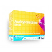 Acétylcystéine Mylan 200 mg - Goût orange 20 sachets