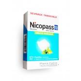 Nicopass 1,5 mg sans sucre menthe fraîcheur - 12 pastilles