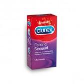 Durex feeling sensual - Boite de 12 préservatifs