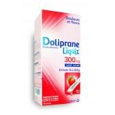 DolipraneLiquiz 300 mg sans sucre enfants - Boite de 12 sachets fraise