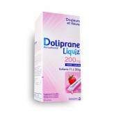 DolipraneLiquiz 200 mg sans sucre enfants - Boite de 12 sachets fraise