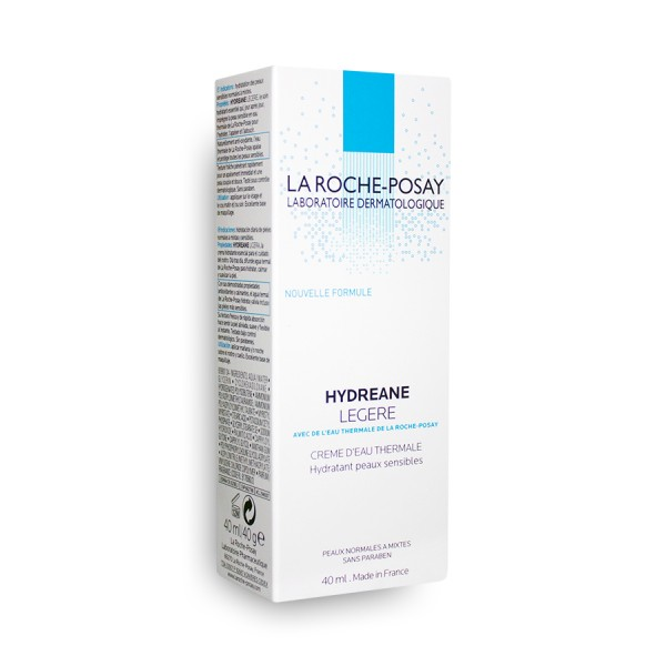 hydreane l g re cr me d 39 eau thermale la roche posay tube de 40 ml. Black Bedroom Furniture Sets. Home Design Ideas