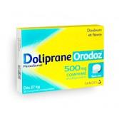 Doliprane Orodoz 500 mg paracétamol - Boite de 12 comprimés orodispersibles