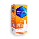Hexaspray fruits exotiques maux de gorge - Collutoire 30 g