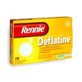 Rennie Déflatine menthe sans sucre - 18 comprimés à croquer