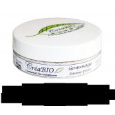 Gommage corps et visage CréaBIO saveur poire - Pot 50 ml