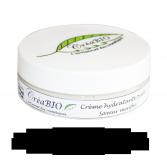 Crème hydratante pieds CréaBIO saveur menthe - Pot 50 ml