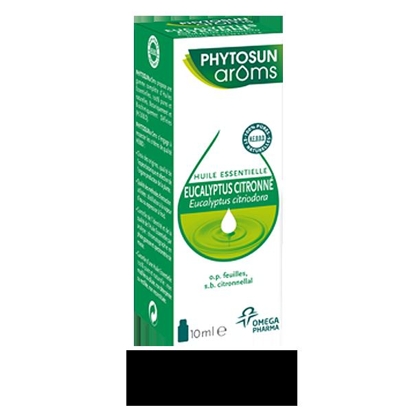 phytosun ar ms eucalyptus citronn huile essentielle 10 ml
