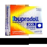 Ibupradoll 200 mg Ibuprofène douleurs et fièvre - 24 comprimés