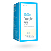 Cocculus complexe n°73 Lehning mal des transports - Flacon 30 ml
