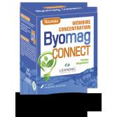 Byomag Connect Lehning mémoire et concentration - 60 gélules