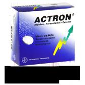 Actron aspirine paracétamol - 30 comprimés effervescents