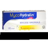 MycoHydralin 500 mg mycose vaginale - 1 comprimé vaginal