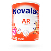 Novalac AR 2ème âge 6-12 mois - Lait de suite 800 g