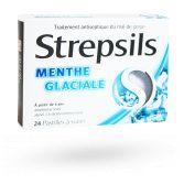 Strepsils pastilles menthe glaciale - Pastilles à sucer