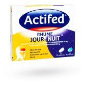 Actifed Rhume jour et nuit - Boite de 16 comprimés