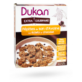 Dukan pépites de son d'avoine éclats de chocolat extra gourmand - 350 g
