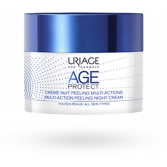 Uriage Age Protect Crème nuit peeling multi-actions - Pot 50 ml