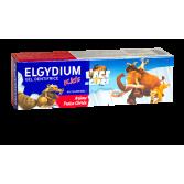 Elgydium Kids gel dentifrice l'âge de glace - Arôme fraise givrée 50 ml