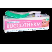Buccotherm baume gingival premières dents à l'eau thermale BIO - Kit poussées dentaires
