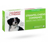 Strantel vermifuges chiens Clément Thékan - Goût viande