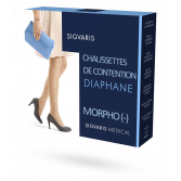 Sigvaris Diaphane New - Chaussettes de contention Morpho (-)