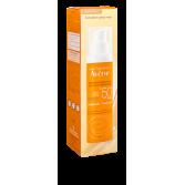 Fluide teinté solaire Avène SPF 50+ - Flacon pompe 50 ml