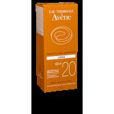 Crème solaire visage protection modérée SPF 20 Avène - Tube 50 ml