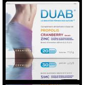 DUAB bien-être féminin - Propolis, Cranberry et Zinc
