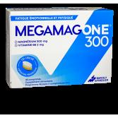 Megamag One 300 fatigue émotionnelle et physique - 45 comprimés