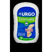 Urgo Extensible pansement avec compresse antiseptique - Boite 30