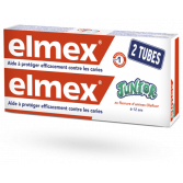 Elmex dentifrice Junior 6/12 ans protection caries - Lot de 2 x 75 ml