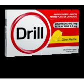 Pastilles Drill tétracaïne - Citron menthe