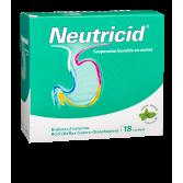 Neutricid brûlures d'estomac - 18 sachets menthe sans sucre