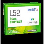 L52 état grippal Lehning - 60 comprimés orodispersibles