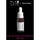 Huile sublinguale de chanvre BIO 2000 mg - Delihemp 10 ml