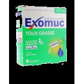 Exomuc 200 mg toux grasse - 15 sachets goût orange