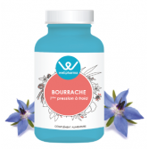 Complément alimentaire Bourrache Wellpharma - 75 capsules
