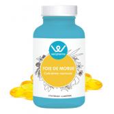 Complément alimentaire Foie de morue Wellpharma - 120 capsules