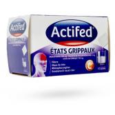 Actifed États grippaux - 10 sachets