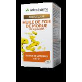 Arkogélules Huile de foie de morue 192 mg de DHA Arkopharma - Vitamine A et D