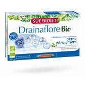 Drainaflore Bio détox Super Diet - Boite de 20 ampoules
