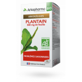 Arkogélules Plantain BIO Arkopharma problèmes saisonniers - 45 gélules