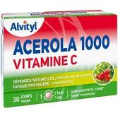 Acerola 1000 vitamine C Alvityl - 30 comprimés à croquer