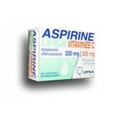 Aspirine UPSA à la vitamine C - 20 comprimés effervescents