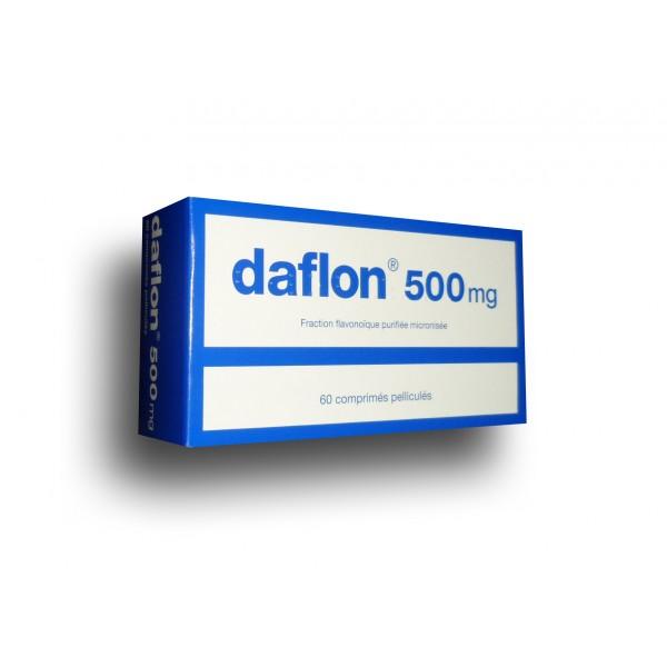 Daflon 500mg comprimé troubles veineux